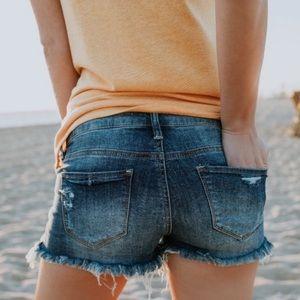 NWT KanCan Midrise Cutoff Shorts